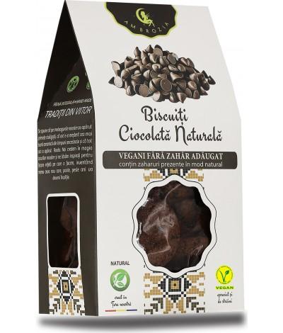 Biscuiti Govinda Ciocolata si Coacaze, cu zahar brun