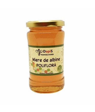 Miere de albine poliflora 400g