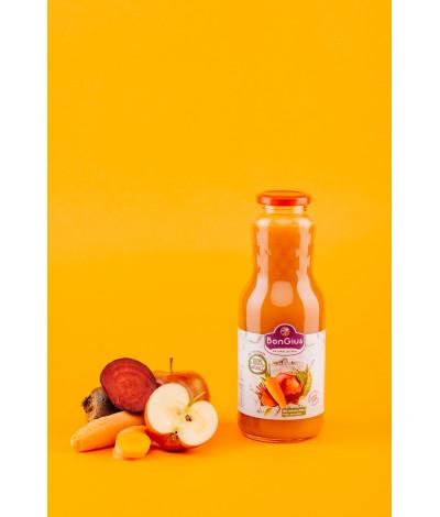 Suc natural din mere, morcovi si sfecla