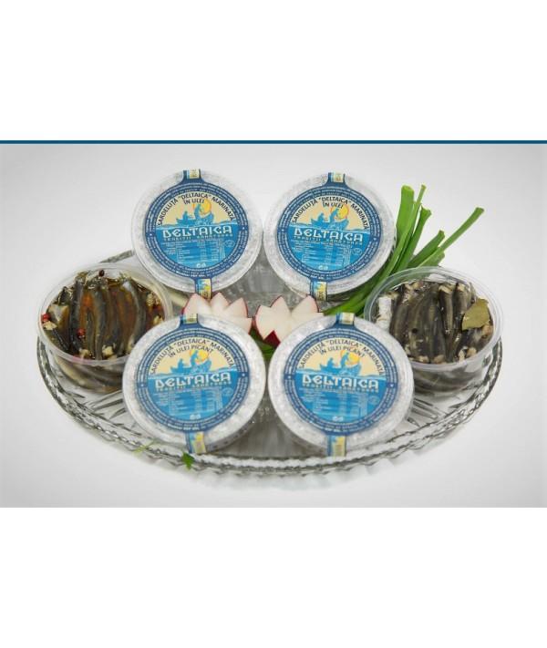 Sardeluțe marinate în ulei picant