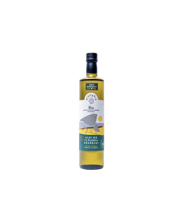 Ulei ecologic de floarea soarelui 750 ml