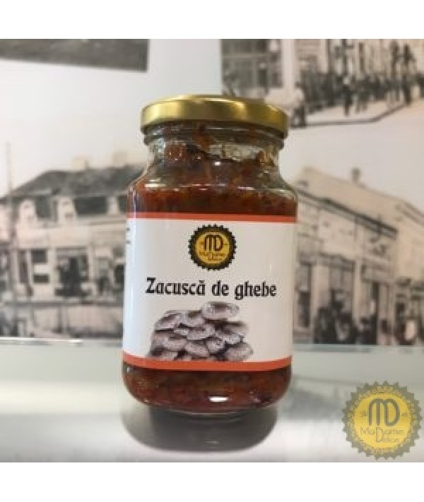 ZACUSCA DE GHEBE PICANTA